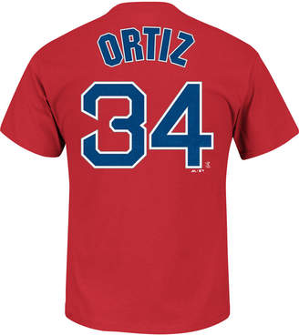 Majestic Men's David Ortiz Boston Red Sox Official Player T-Shirt