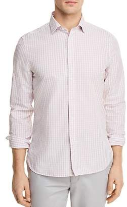 Bloomingdale's The Men's Store at Gingham Long Sleeve Button-Down Shirt - 100% Exclusive