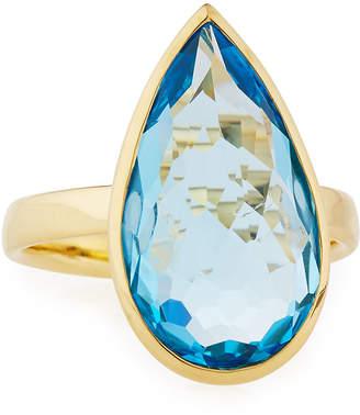 Ippolita Rock Candy® 18k Swiss Topaz Teardrop Ring, Size 7