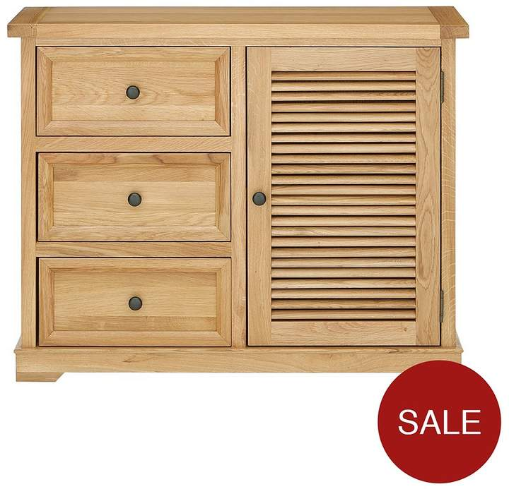 Luxe Collection - Hastings Oak Ready Assembled Compact Sideboard