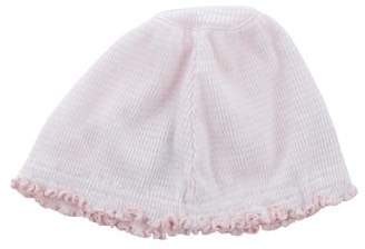 Florence Eiseman Girls' Embroidered Striped Hat