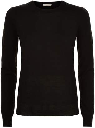 Burberry Elbow Patch Merino Jumper