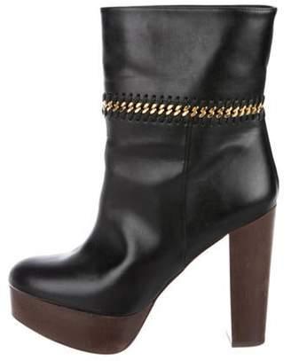 Stella McCartney Vegan Leather Ankle Boots Black Vegan Leather Ankle Boots