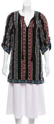 Tolani Embroidered Embellished Tunic