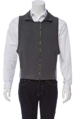 Calvin Klein Collection Wool Knit Vest