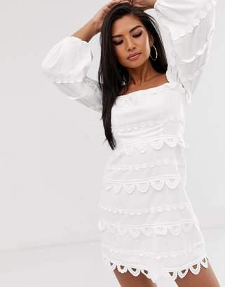 Talulah Early Night crochet lace dress