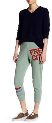 Free City Varsity Stripe Logo Sweat Pant $125 thestylecure.com