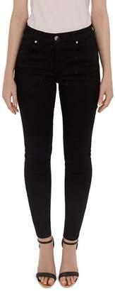 Ted Baker Dahlene Embroidered Star Skinny Jeans in Black