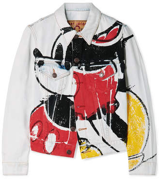 Marc Jacobs (マーク ジェイコブス) - Marc Jacobs - Mickey Printed Denim Jacket - Blue