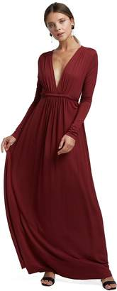 Rachel Pally Long Sleeve Full Length Caftan - Gamay