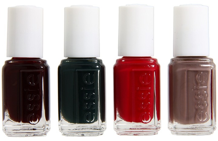 Essie 4 Piece Cube Fall Collection 2012 (Multi) - Beauty
