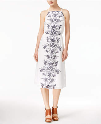 Maison Jules Cotton Embroidered Dress, Only at Macy's $89.50 thestylecure.com