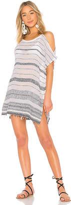 Lemlem Saba Open Shoulder Dress