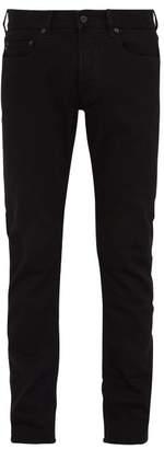 Stone Island Slim Fit Stretch Cotton Jeans - Mens - Black