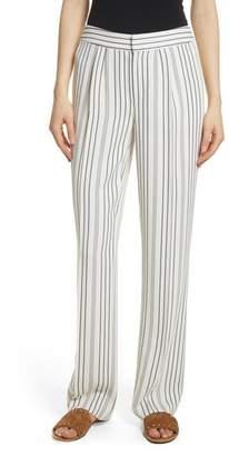 Frame Stripe Trousers