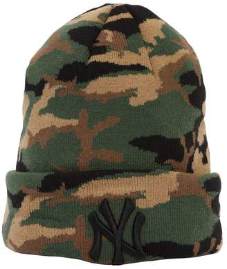 New Era Essential Ny Yankees Camo Beanie Hat
