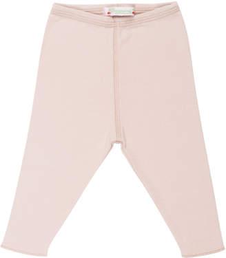 Bonpoint Solid Cotton Leggings, Size 3 Months-2T