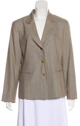 Lafayette 148 Textured Wool Blazer