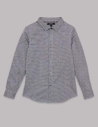 Autograph Pure Cotton Printed Shirt (3-16 Years)