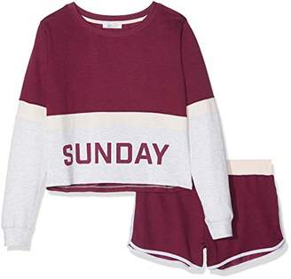 New Look 915 Sunday, Pajamas Sets for Girls,(Manufacturer Size: 103)
