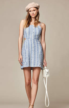 Lost + Wander Waves Button Up Dress