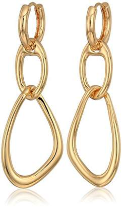French Connection Women's Interlocking Drop Earrings