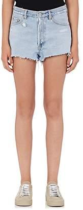 Off-White Women's Cut-Off Denim Shorts