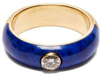 Marc Alary Belsa diamond and 18kt gold ring
