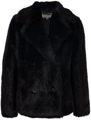 Michael Michael Kors faux fur jacket $454.78 thestylecure.com