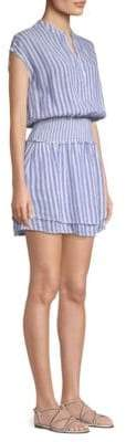 Rails Angelina Striped Blouson Tunic Dress