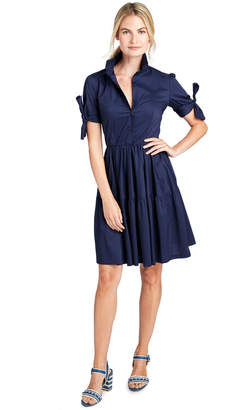 Vineyard Vines Tie Sleeve Shirt Dress