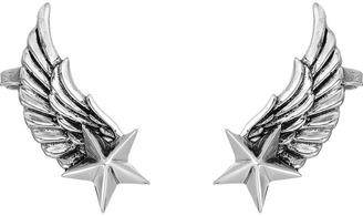 King Baby Studio - Winged Star Ear Cuff Earrings Earring $240 thestylecure.com