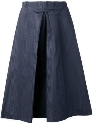 Nina Ricci inverted pleat skirt