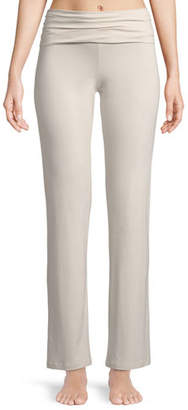 Zimmerli Pureness Fold-Over Lounge Pants