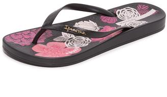 Ipanema Ana Bloom Flip Flops $23 thestylecure.com