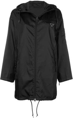 Prada hooded shell jacket