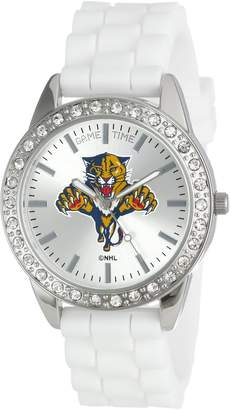 Game Time Women's NHL-FRO-FLA Frost NHL Series 3-Hand Analog Watch