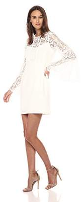 Nanette Lepore Women's Spanish Dancer Crepe and lace Dress
