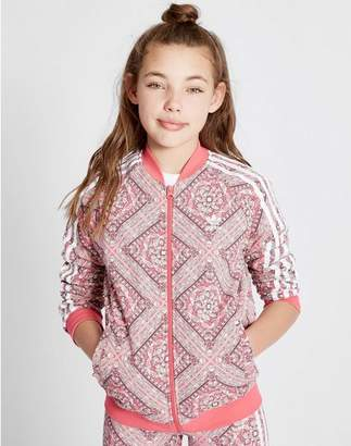 83a51bea adidas Girls' Geo All Over Print Track Top Junior