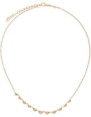 Jacquie Aiche 14kt rose gold diamond Emily necklace