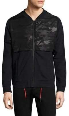 Strellson Frame Zip-Front Cotton Jacket