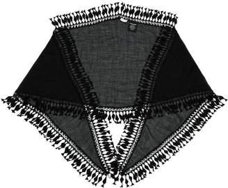 Saint Laurent Long tassel embellished stole