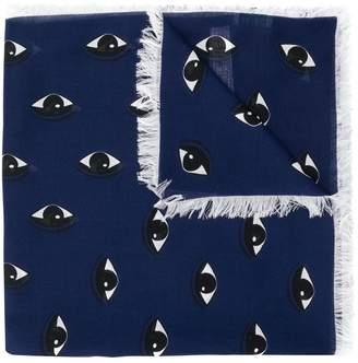 Kenzo eye logo scarf