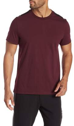 Kenneth Cole New York Short Sleeve Logo Tape Crew Neck Tee