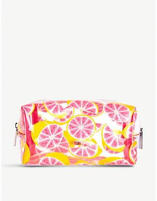 Skinnydip Grapefruit makeup bag