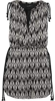 Isabel Marant Printed Voile Mini Dress