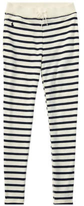 Ralph Lauren Striped French Terry Leggings