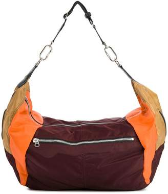 Isabel Marant large colourblock shoulder bag