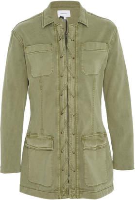 Current/Elliott Laced Cotton-Canvas Jacket