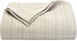 Tommy Bahama Home Bamboo Woven Cotton Full/Queen Blanket Bedding